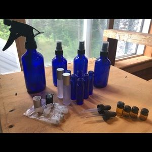 Essential Oil Bottle Craft Lot